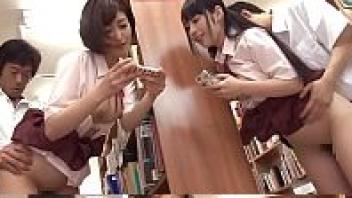 แอบเสียว แอบเย็ด เย็ดในห้องสมุด เย็ดนักเรียน เงี่ยน